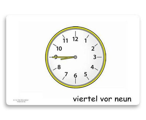 Bildkarten Uhrzeit-5