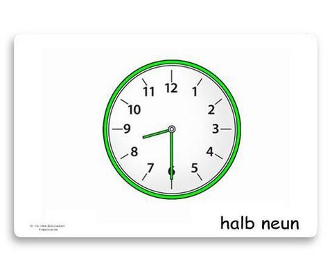 Bildkarten Uhrzeit-6
