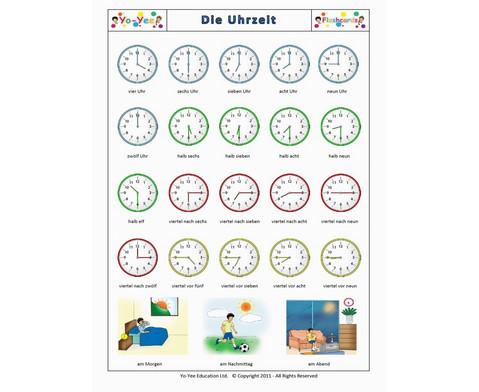 Bildkarten Uhrzeit-7