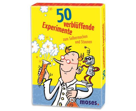 50 verblueffende Experimente