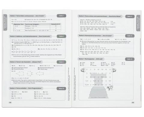 Mathe an Stationen Spezial Terme und Gleichungen-4