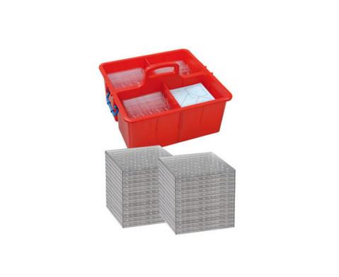 Klassensatz mit 30  Geometrie-Boards F in Tragebox-2