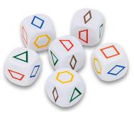 Würfel Pattern Blocks, 6er Set