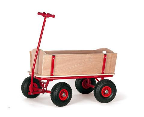 Bollerwagen aus Holz-2
