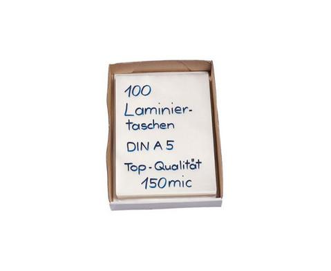 Karton mit 100 Compra Laminiertaschen DIN A5 150 mic-2