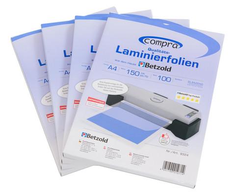 Compra Laminierfolien100 Stueck  DIN A4 150 mic-4