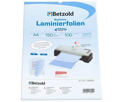 Compra Laminiertaschen100 Stueck  DIN A4 150 mic-1