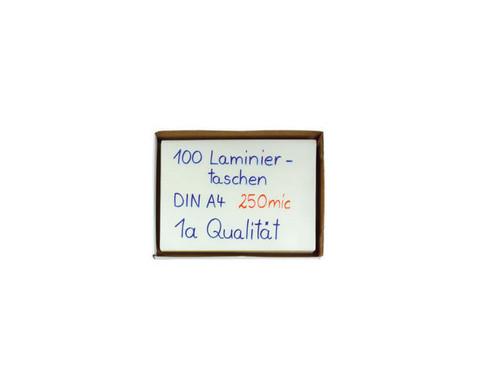 Karton mit 100 Compra Laminierfolien DIN A4 250 mic-2