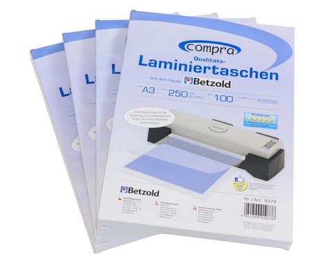 Karton mit 100 Compra Laminierfolien DIN A3 250 mic-4