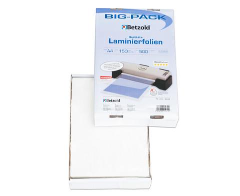 Laminiertaschen A4 150 mic 500 Stueck im Big-Pack glaenzend-3