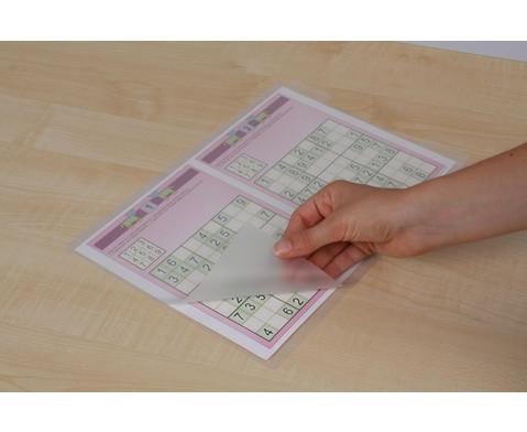 Karton mit 100 Compra Laminierfolien matt DIN A4 150 mic-12