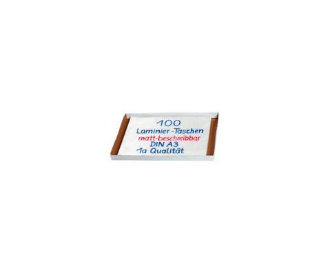 Karton mit 100 Compra Laminierfolien matt DIN A3 150 mic-2