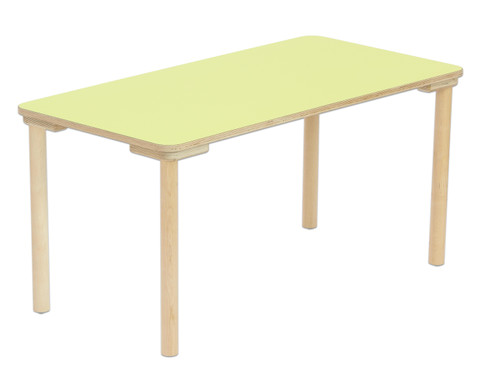 Flexeo Rechteck-Tisch Hoehe 58 cm