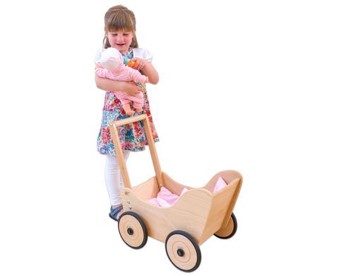 Puppenwagen inkl Bettwaesche-3