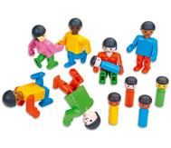 Poly-M Spielfiguren - Freunde aus aller Welt, 47-tlg.