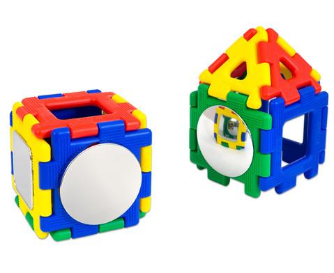 Polydron-Baumaterial-Set mit Spiegel 51-tlg-5