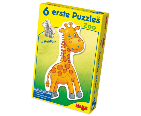 6 erste Puzzles - Zoo-1
