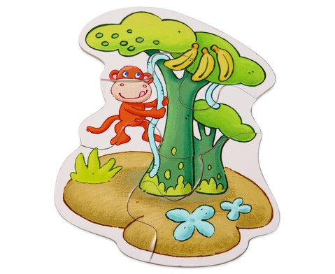 6 erste Puzzles - Zoo-6