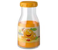 Orangensaft-Flasche