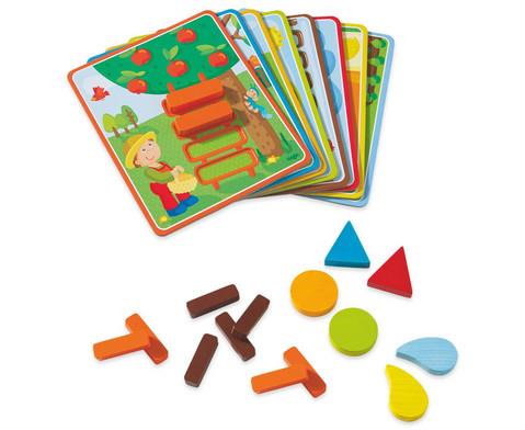 Zuordnungsspiel Lustiges Landleben-1