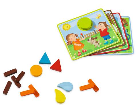 Zuordnungsspiel Lustiges Landleben-3