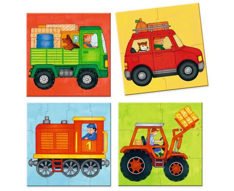 Mein Erstes Puzzle Fahrzeuge-2