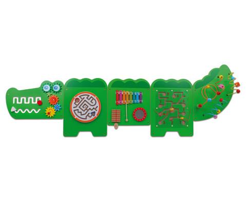 Krokodil-Wandspiel 5-tlg