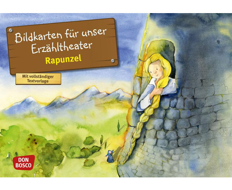 Bildkarten Rapunzel