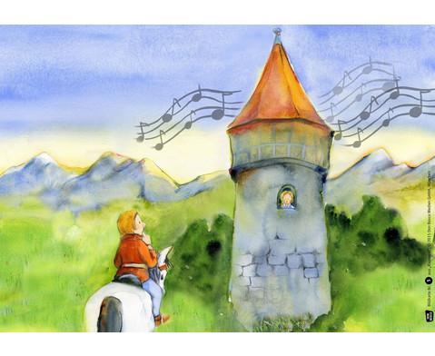 Bildkarten Rapunzel-2