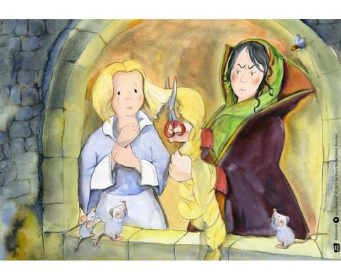 Bildkarten Rapunzel-3