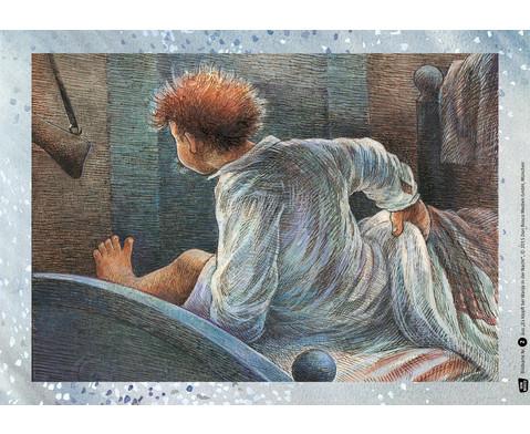 12 Bildkarten  Es klopft bei Wanja in der Nacht-4