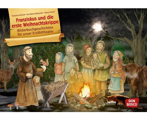 Bildkarten Franziskus und die erste Weihnachtskrippe-1
