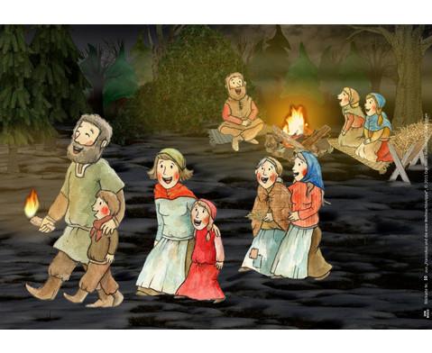 Bildkarten Franziskus und die erste Weihnachtskrippe-2