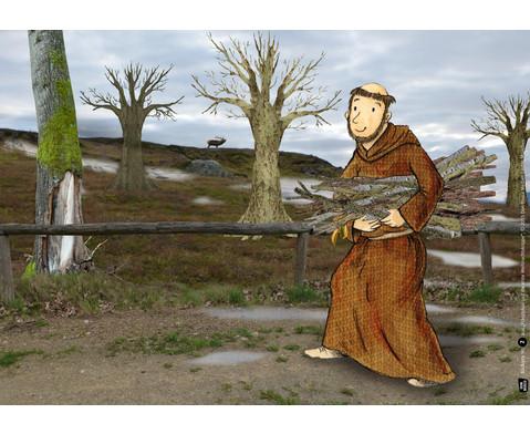 Bildkarten Franziskus und die erste Weihnachtskrippe-3