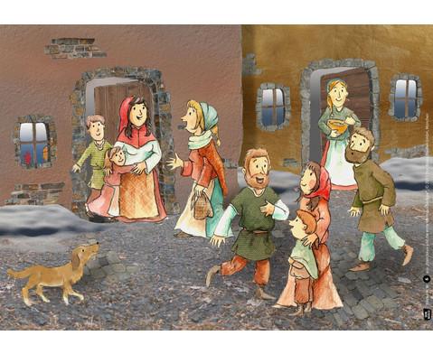 Bildkarten Franziskus und die erste Weihnachtskrippe-5