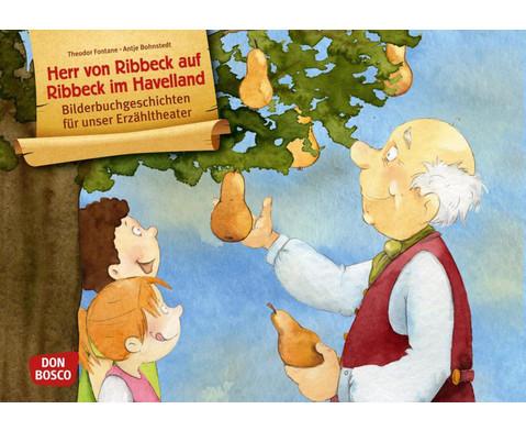 Bildkarten Herr von Ribbeck auf Ribbeck im Havelland