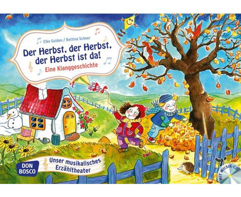 Bildkarten Der Herbst der Herbst der Herbst ist da-1