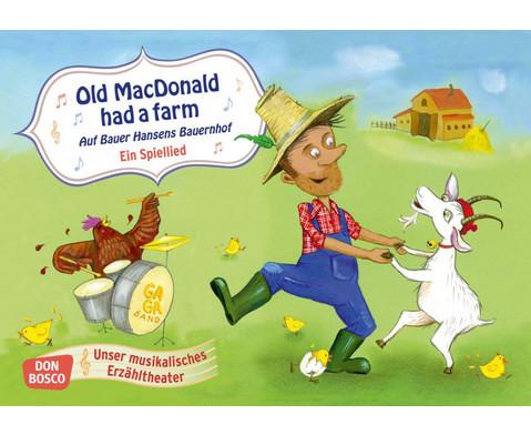 Bildkarten fuer das Kamishibai Old MacDonald had a farm
