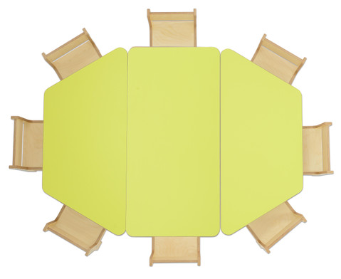 Rechteck-Tisch Hoehe 25 cm-4