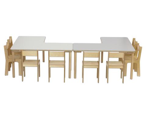 Winkeltisch Hoehe 40 cm-4