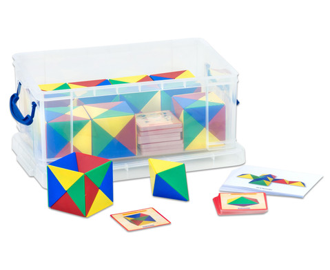 Geometriebausatz mit Box-1