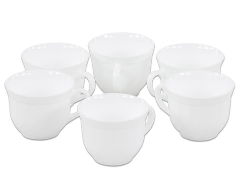 Kaffeetassen 6er Set  220 ml