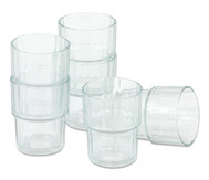 6 Gläser, 160 ml