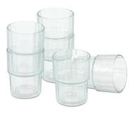 Gläser, 6er-Set,160 ml