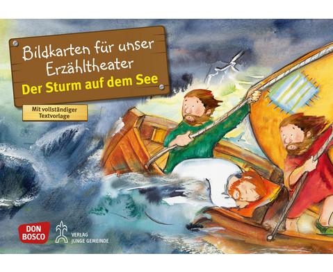 Bildkarten Der Sturm auf dem See-1