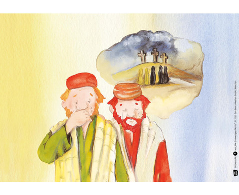 Bildkarten Die Emmausgeschichte-4
