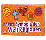 Bildkarten: Symbole der Weltreligionen