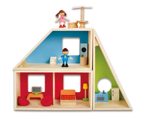 Puppenhaus Fantasie komplett-1