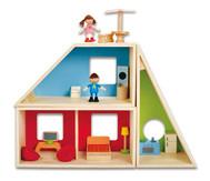 Puppenhaus Fantasie komplett