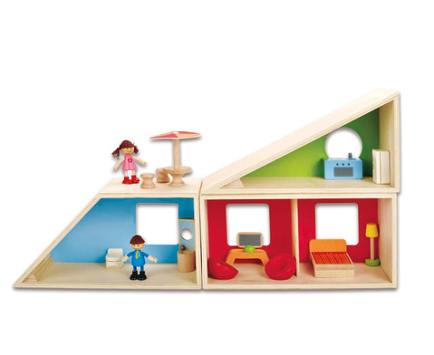 Puppenhaus Fantasie komplett-3